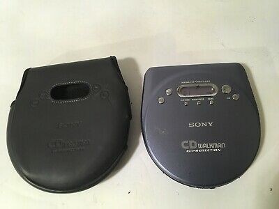 Sony Walkman D-EJ815 CD Player.Working with Carrying Case