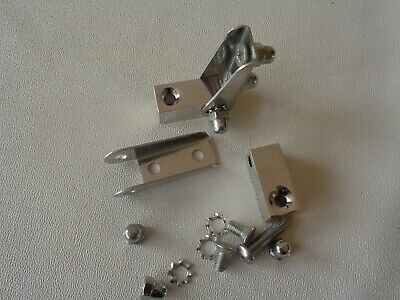 Classic Friction Hinge Pair Sun Visors Or Wind Deflectors With Nuts/Bolts
