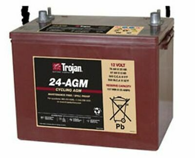 Replacement Battery For Trojan T24-Agm 12V
