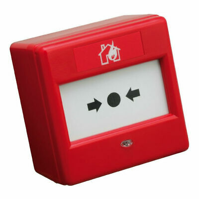 C-Tec BF370FR Conventional Crack Glass Fire Alarm Call Point (Red)
