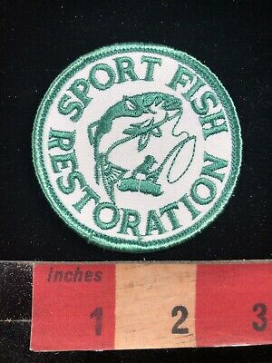 Fishing Patch SPORT FISH RESTORATION PATCH C96U