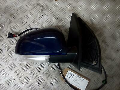 VOLKSWAGEN GOLF RIGHT ELECTRIC Door Mirror Mk5 04- 09 BLUE