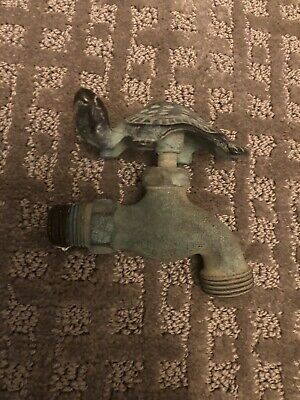 Antique Turtle Faucet Spout