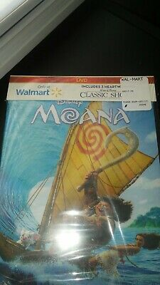 Brand new, Sealed Moana (DVD, 2017) Only at Walmart