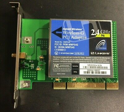 linksys wireless g pci adapter wmp54gs driver download