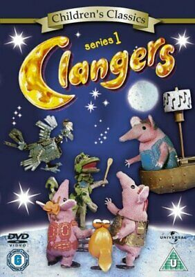 Clangers: The Complete First Series DVD All 13 Episodes from Season 1 UK R2