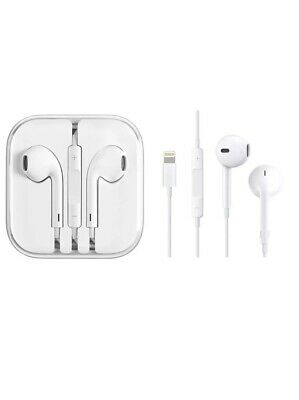 Genuine Apple Earpods Earphones Headphones For iPhone X 8 7 Plus Lightning Cable