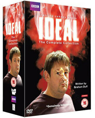 Ideal - Collezione Completa Nuovo Pal Serie 13-DVD Set Graham Duff Johnny Vegas
