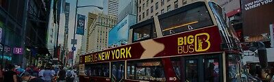 New York City For Two People: 24-Hour Unlimited Downtown & Uptown Hop-on Hop Off