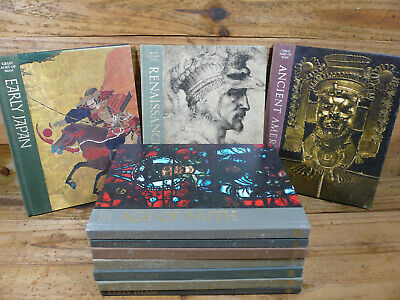 Set of 10 Time-Life GREAT AGES OF MAN BOOKS  1965-1972