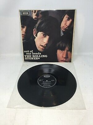 Rolling Stones Out Of Our Heads LP 1969 French Press Decca 158.015 Clean Vinyl
