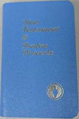 New Testament -Psalms and Proverbs Pocket Bible The Gideons International ESV