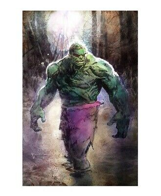 Immortal Hulk #20 Bill Sienkiewicz Sdcc Exclusive Avengers Endgame Marvel Comics