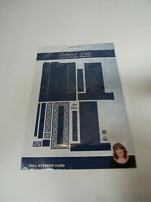 Tattered Lace Tall Stepper Card Die Set