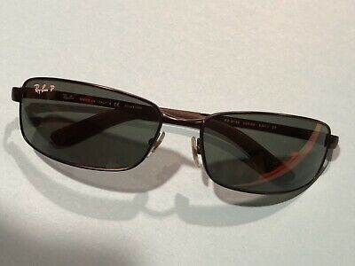 d3fecd28a8c7 RAYBAN RB3194 POLARIZED Sunglasses - Excellent Condition - Authentic ...