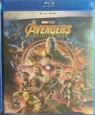 Avengers: Infinity War (Blu-ray Disc, 2018) New. Free 1st Class Shipping.