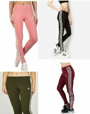 Adidas Originals Women`s 3-Stripes Leggings Latest Stylish Jegging 8,10,12,14