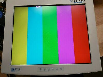 """NDS Radiance Display 19"""" Medical Endoscopy Monitor w/ power cable"""