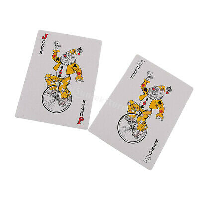 LARGE Jumbo Big PLAYING CARDS Full Deck Outdoor Garden Big Party Game Toy