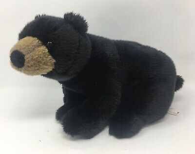 Papyrus Black/Brown Childs Plush Plushie Soft Toy Teddy Baby Bear Fluffy 3years+