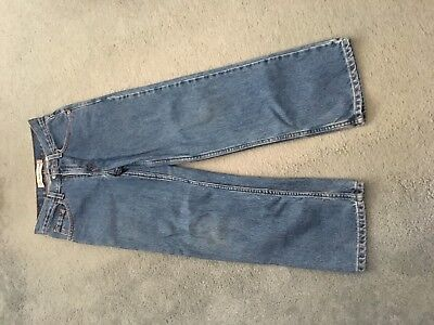 Levis Blue Jeans 550 unisex size 12  Relaxed Fit for children