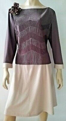 STITCHES PLUS vintage ladies 14 skirt and top set 2 piece outfit