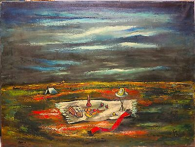 Alvin Sella 1946 oil painting Mexico landscape modernist artist