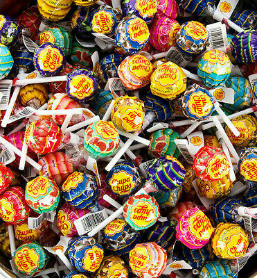 Chupa Chups Lollipops Assorted Flavour Candy Sweets Lollies 30/50/100/200/300