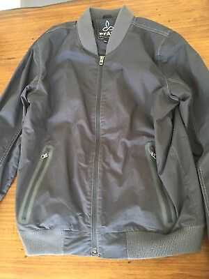 a0d91954d PRANA BROOKRIDGE BOMBER Jacket - Men's Coal M