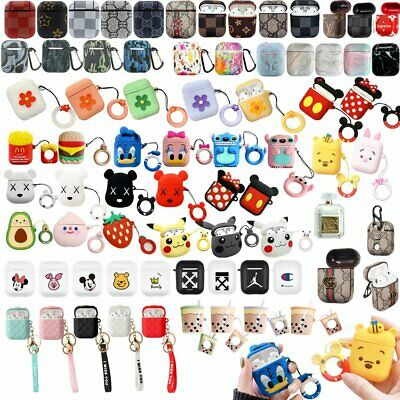 Shockproof For Apple Airpods case Cover Skin Anti Lost Strap Holder Airpod IWQR
