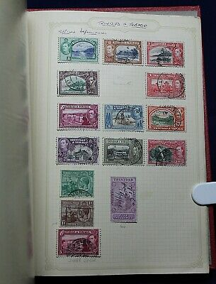 British Commonwealth (Rhodesia,The Saints Island) 1900 -1960's Stamp Collection