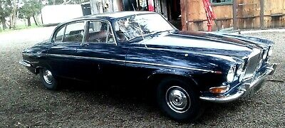 BARN FIND unmolested  low mileage 1970 Jaguar  420 G with awesome Patina!