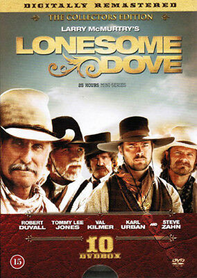 Lonesome Dove Collection (5 Films) NEW PAL Series Cult 10-DVD Set Kilmer Voight