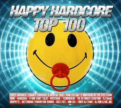 Happy Hardcore Top 100 2012 by Various Artists - NEW (CD, Apr-2012, 3 Discs)
