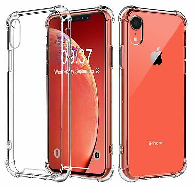 Crystal Clear Case for iPhone XR Transparent Shockproof Bumper Cover