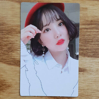 Eunha Official Photocard GFriend Time for us 2nd Album Kpop Genuine
