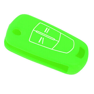 Car Keyless Entry Fob Cover Key Shell Case 2-button for Opel Vauxhall, Green