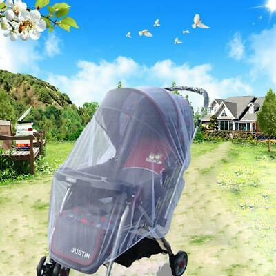 Baby Stroller Mosquito Net Ultra-thin Breathable Fully Covered Infant C1MY