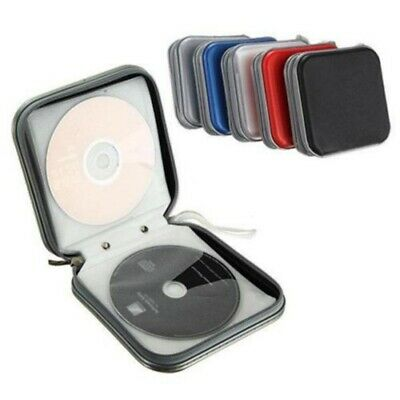 40 Disc Double-side CD DVD Organizer Holder Storage Case Hard Wallet Album  AU