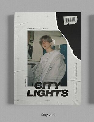 BAEKHYUN EXO 1st Mini Album [City Lights] Day Ver. CD+Book+P.Card+Lyrics Booklet
