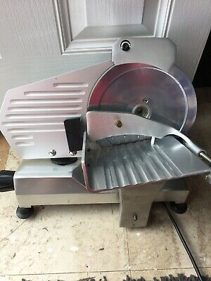 Gastro Electric Stainless Meat Slicer Professional Sausage Cutter Commercial