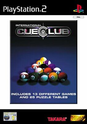 International Cue Club (PS2 Game) *GOOD CONDITION*