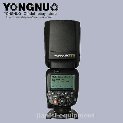 YONGNUO TTL YN600EX-RT II Flash speedlite for canon 1500D/ T7 6DII 5DSR 1200D