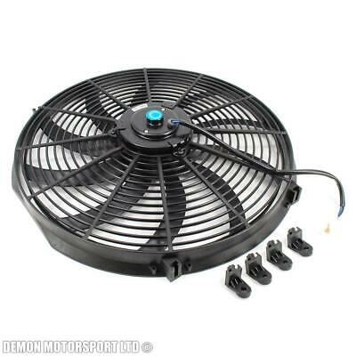 "16"" 16 Inch 12 Volt Electric Cooling Fan Push or Pull For Radiator Intercooler"