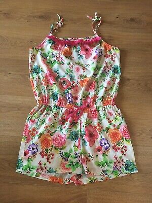 Barely Used Girls Next Summer Playsuit, Short Dungarees Age 13-14 Years 15 Years