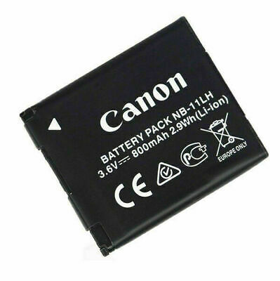 2pcs NEW Genuine Canon Battery Pack NB-11LH NB-11L 3.6v, 800mAh 2.9Wh (Li-ion)