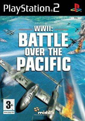 WWII: Battle over the Pacific (PS2 Game) *GOOD CONDITION*