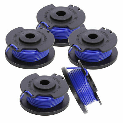 5x Bobine fil Nylon diamètre 1.65mm pour Grass Trimmer tondeuse coupe-bordure