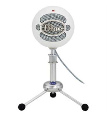 NEW Blue Microphones Snowball ICE iCE USB Microphone - White Plug-and-Play