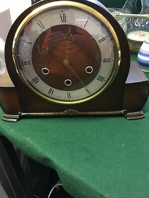 Smiths Enfield Deco Clock (Chimes) 1952 Westminster Chimes